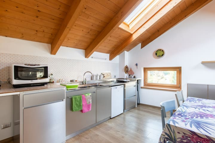 Attic San Martino: green, smart and clean