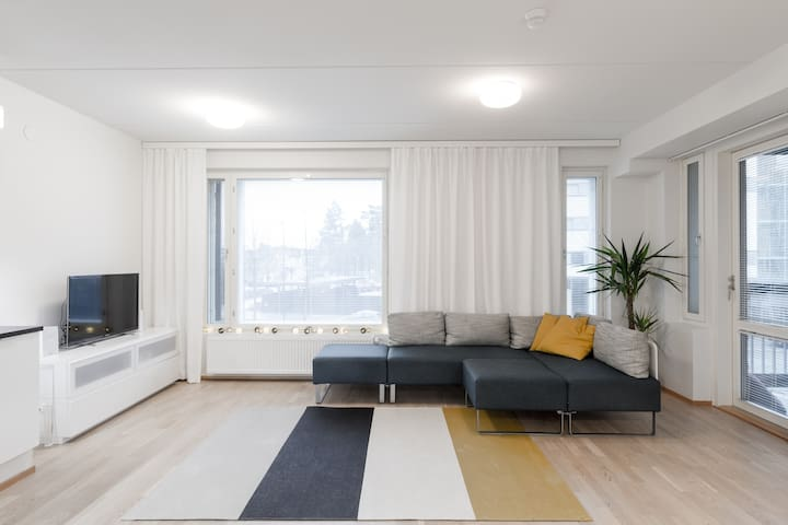 Stylish apartement near Sunny Beach In Vuosaari