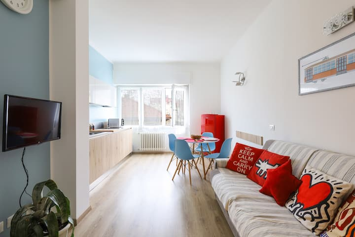 Cozy apartment recently renovated 4 pax in Milan