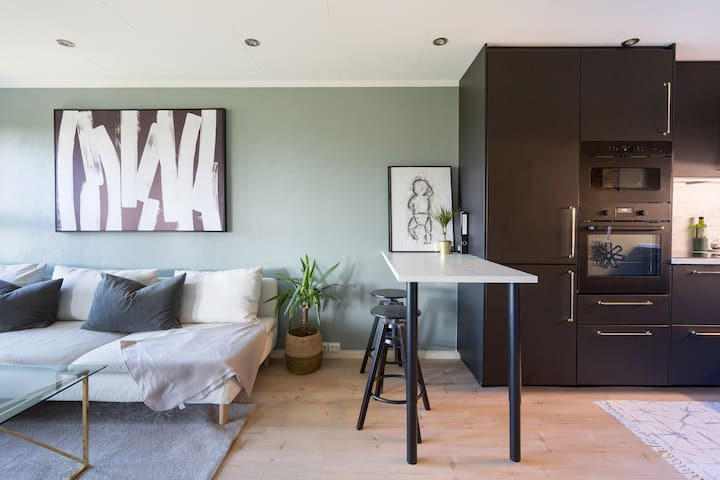 Cozy apartment close to Oslo Airport