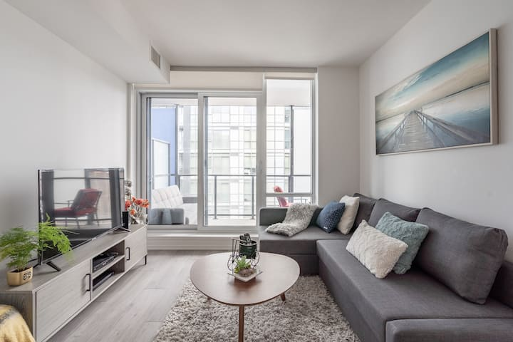 Downtown 2 bed 2 bath NEW apartment