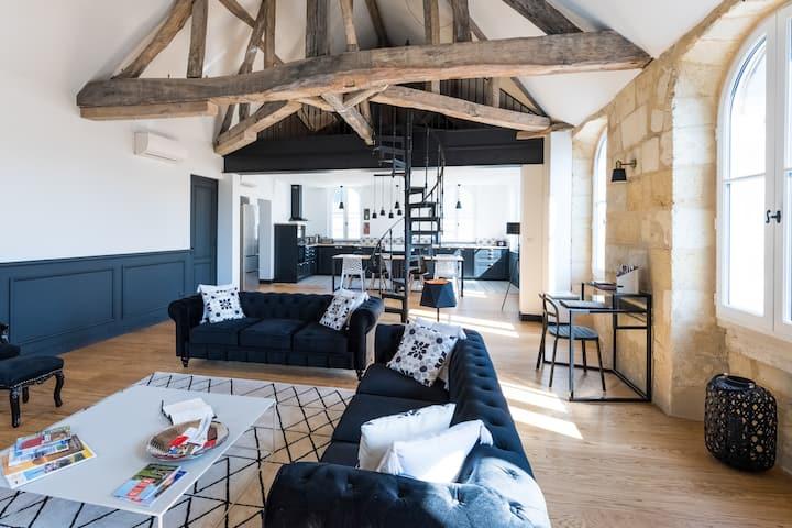 """Magnifique loft  type """"boutique hôtel"""" à Libourne"""