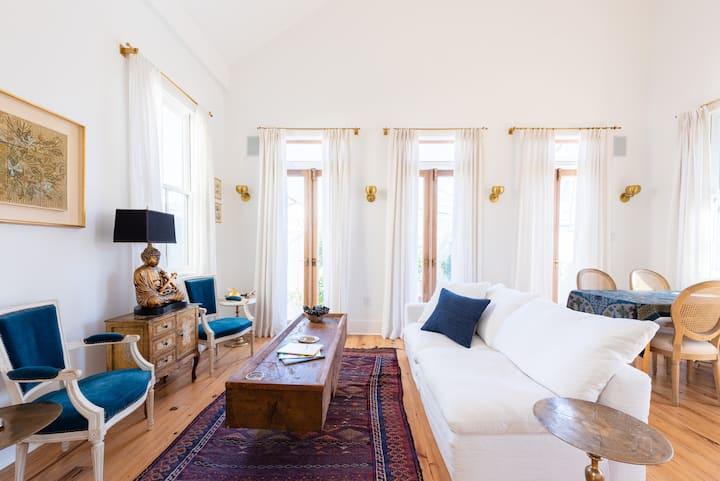 Historic Victorian Facade, Luxurious Interior