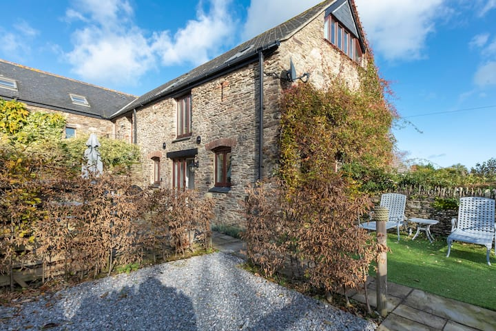 Stunning barn conversion in lovely coastal village