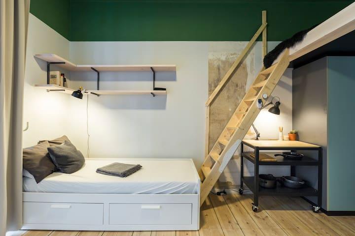 Minimalist apartment in the heart of Kreuzberg
