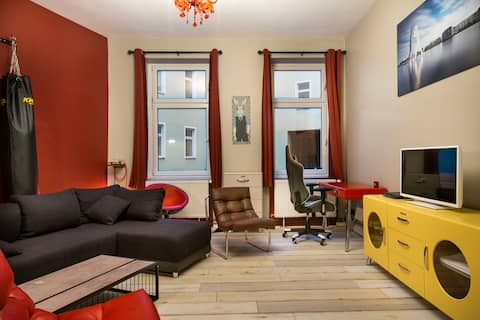 Powerful Apartment in Berlin Alexanderplatz