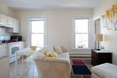 Homey Apt - Min from Boston & major Universities