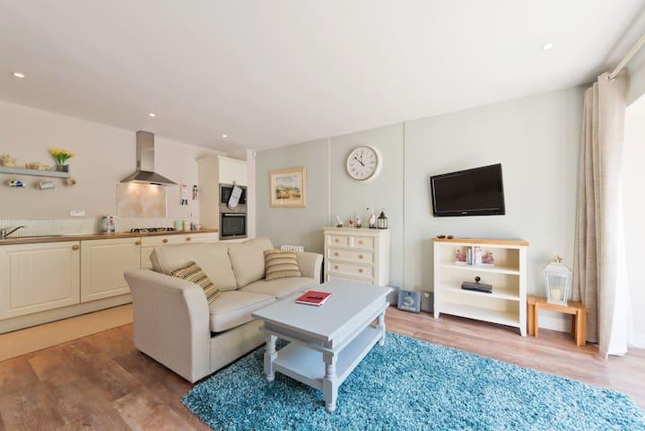 Relaxing TV viewing