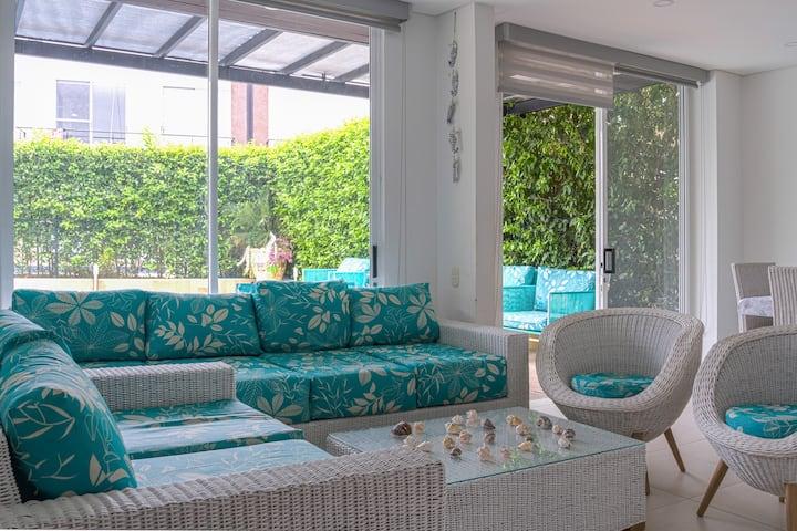 Luxury House Ricuarte, Piscina Privada, Asados.