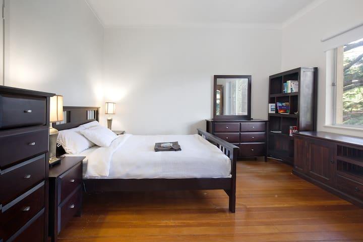 Oasis in Bellevue Hill- Large Master bedroom.