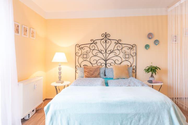 Romantisches sonniges Appartement für 2 Personen