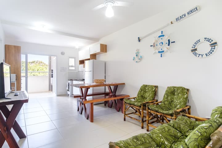 Beautiful  New Apartment Ubatuba 300m from beach