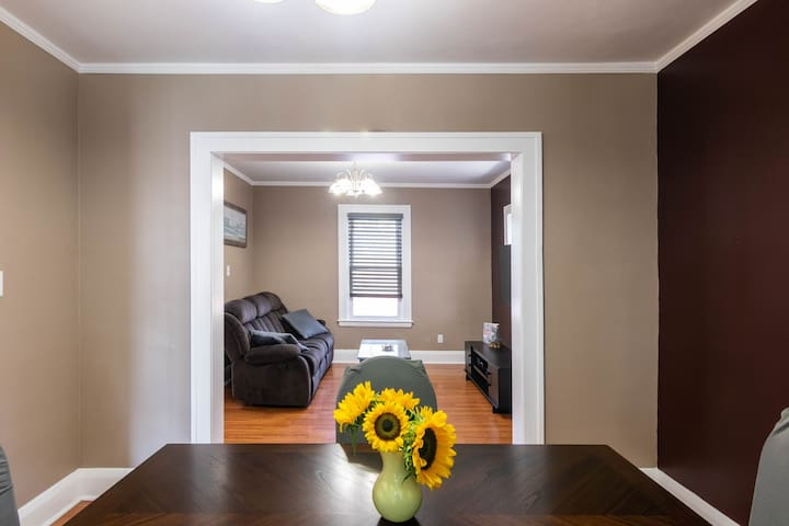 Quiet and comfortable 3bedroom home