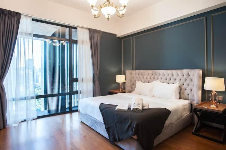 High Floor   KLCC & KL Tower 4 Bedrooms