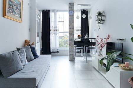 Luxury apartment in the center of the fun.