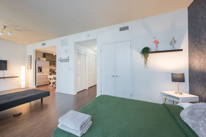 LOVELY STUDIO DOWNTOWN ORLANDO CLOSE DISNEY