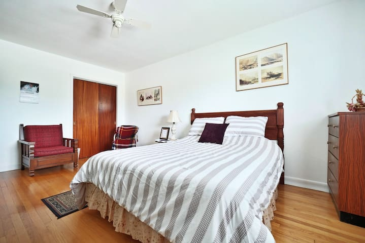 Two furnished spare rooms available in  (my home).