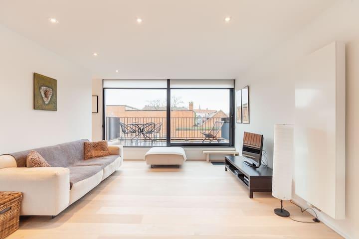 Prachtig duplex appartement in hartje Lier!