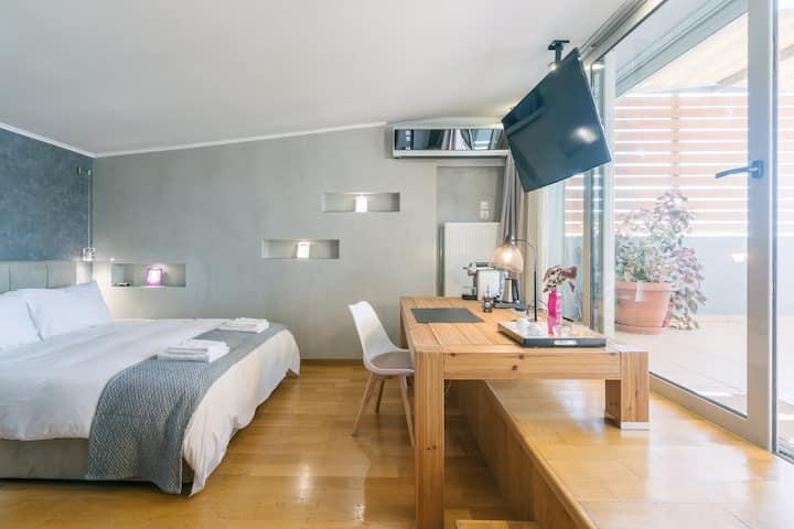 Sea View Luxury Private Terrace Studio