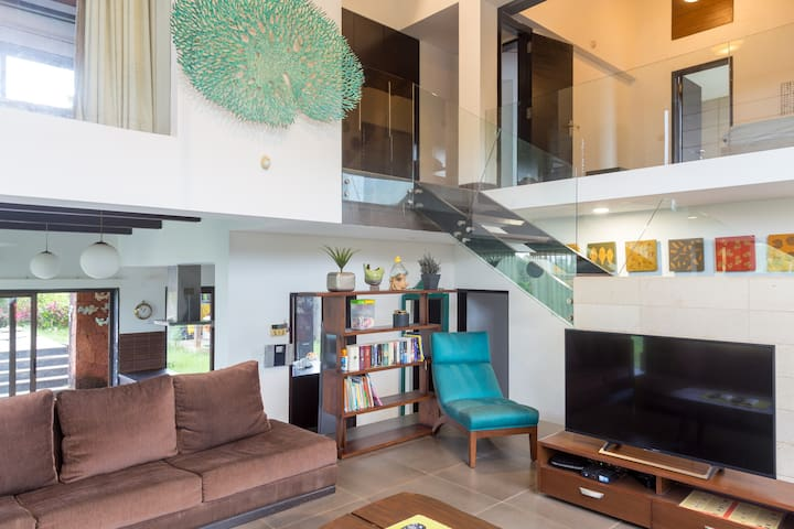 Luxury villa by backwaters in candolim