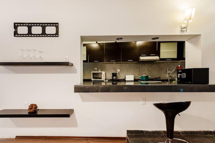 Suite 1  suites equipadas  viajes de negocios