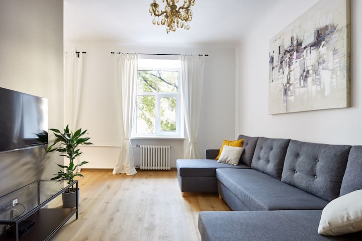 Brand new studio 20min walk to Riga Old Town