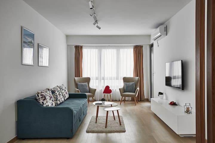 Stylish apartment in the Diamond of Skopje