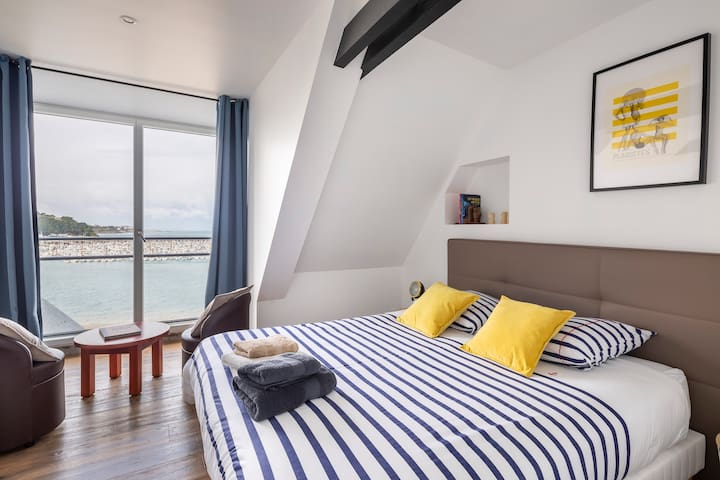 Duplex avec vue magnifique, plage,WIFI