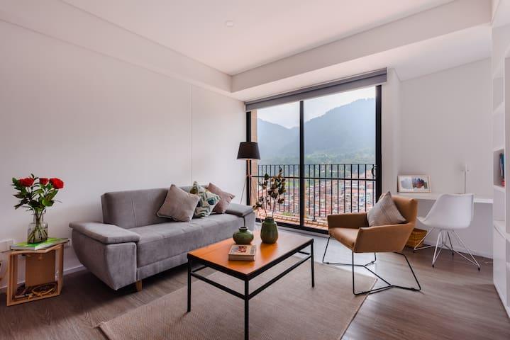 Hermoso apartamento en el corazón de Bogotá!!!
