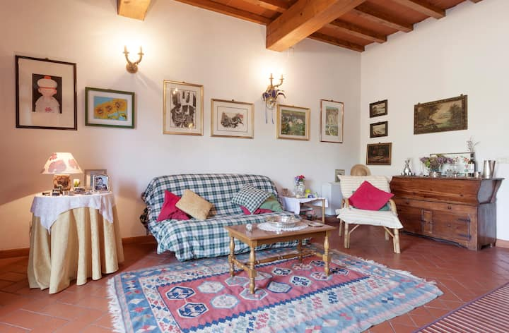 CountryHouse room with private bathroom + parking
