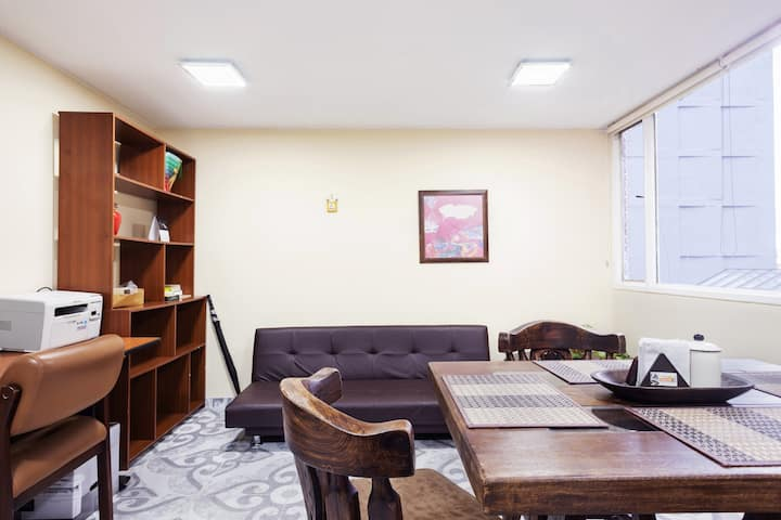 Confortable apartamento en el Centro de la ciudad