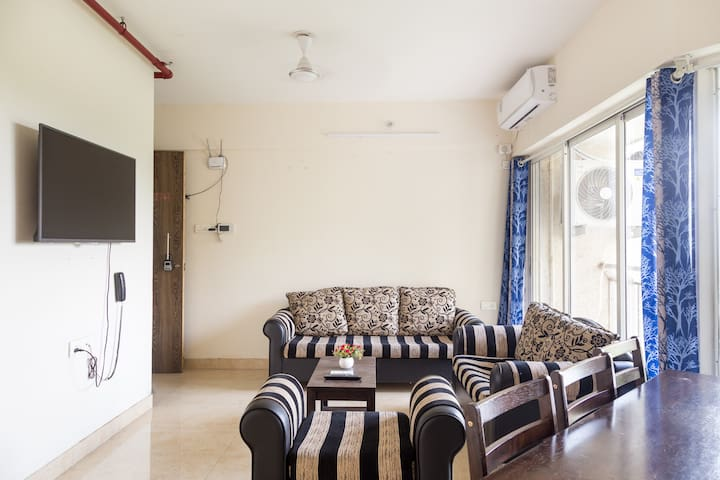 2BHK with breathtaking mountain views at Shilphata