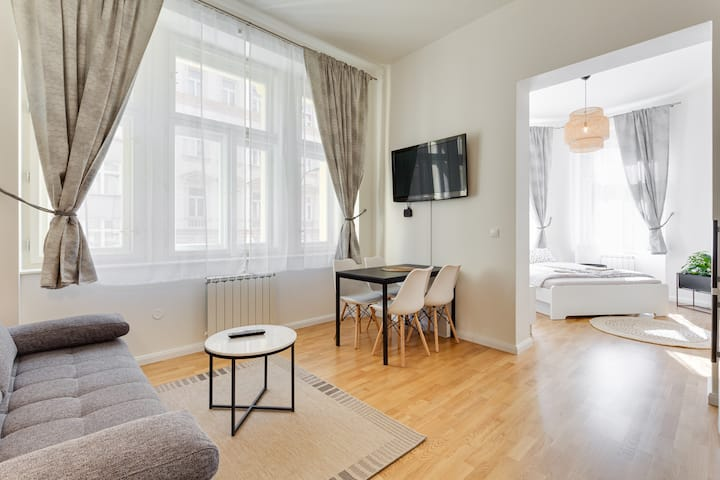 New luxury apartment in the centre with Netflix