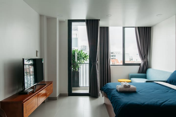 New Renovated Private Room in Central Thao Dien D2