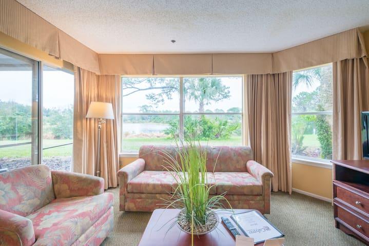 Two bedrooms Apt near SeaWorld