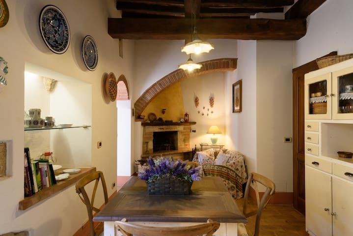 Antica Casa nel centro storico di Sarteano