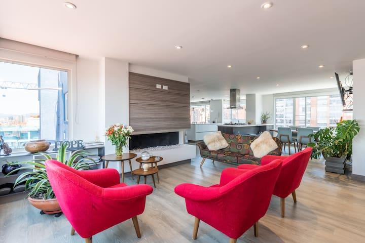 Interior Designer Penthouse | Best Panoramic View