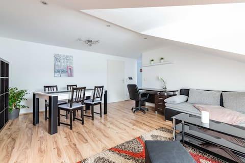 Moderne Wohnung  Zentral Rastatt Codeschloss Klima