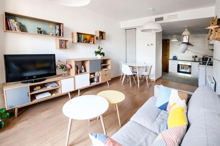 Apartamento luminoso junto al Pilar