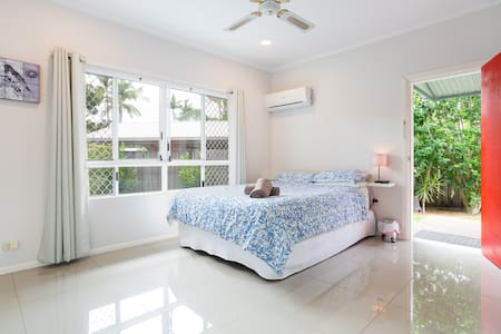 Close to airport, private entry & chemical free.