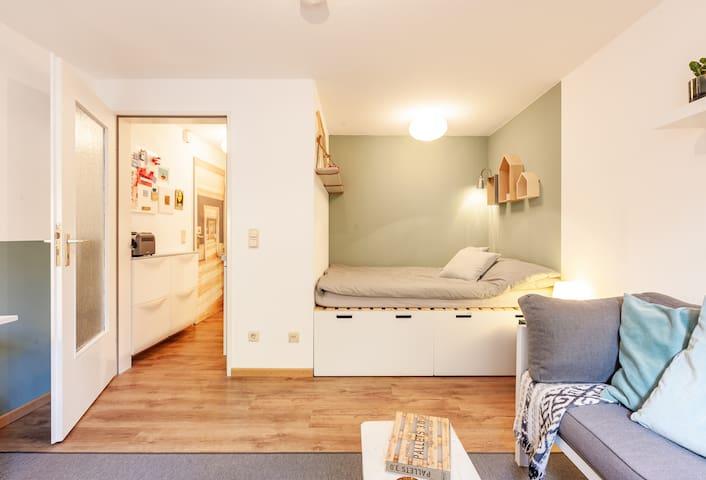 Mini Appartement Cologne für 2 in Ehrenfeld