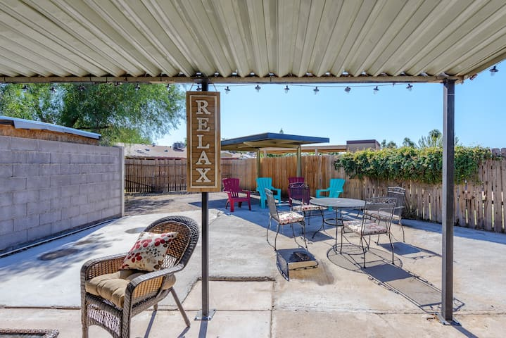 Settle in by zoning out in 4BR Phoenix