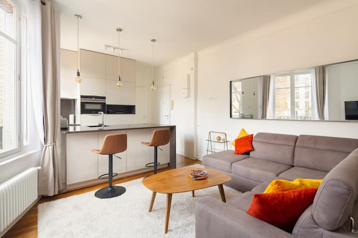 Modern Studio Luminous & Calm - near Montparnasse