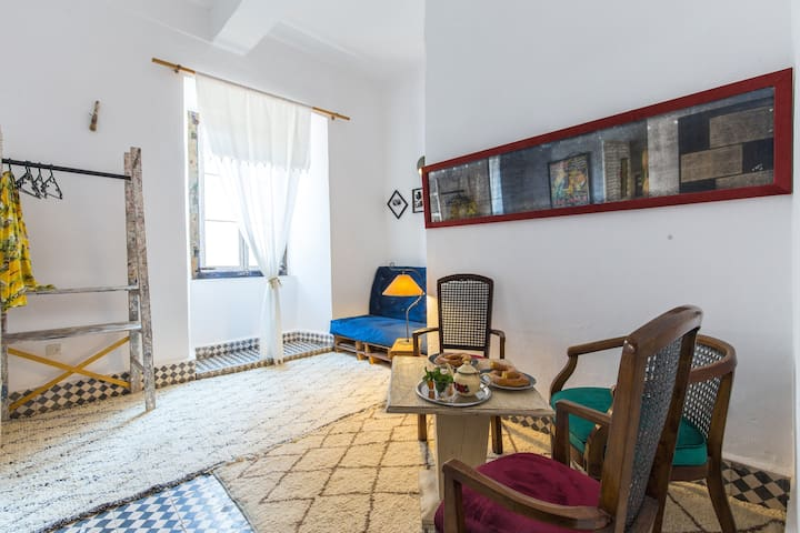 Funky flat in the heart of the medina