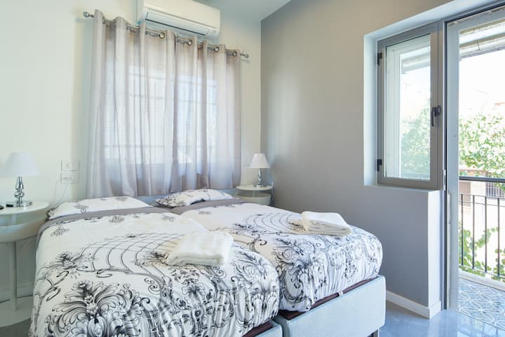 dining room, bed room, balcony.  perfect location