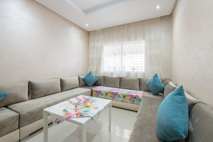 Brand new Appartment in Residence Tour Hassan