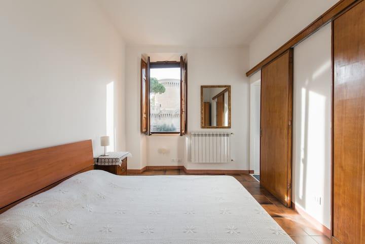 Historical Loft in Ostia Antica Renaissance Borgo