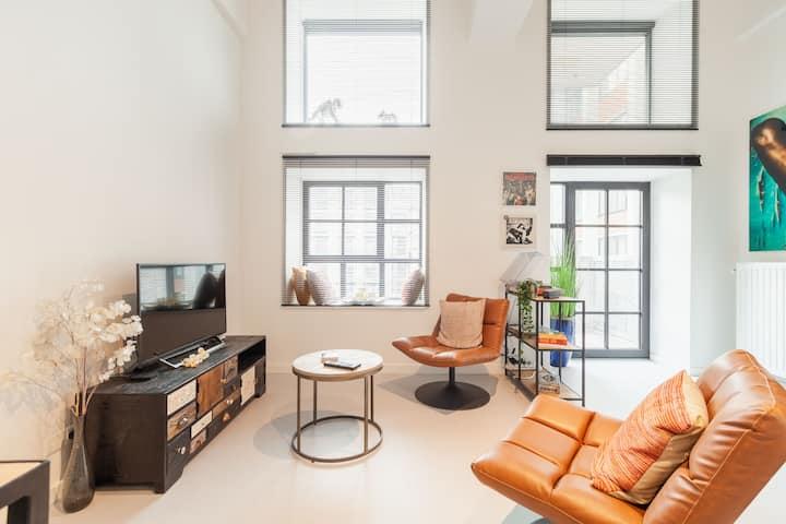Unique, cosy, spacious & bright CityLoft