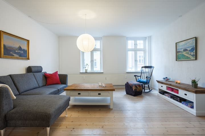 Central Location in Vejle - big Apartment 100 m2.