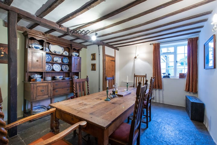 Large historic property in Somerset market town